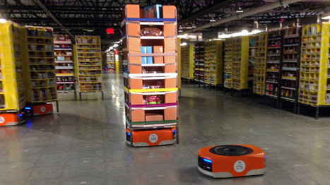 Amazon Unleashes Robot Army To Send Your Holiday Packages Faster | Robots in Higher Education | Scoop.it