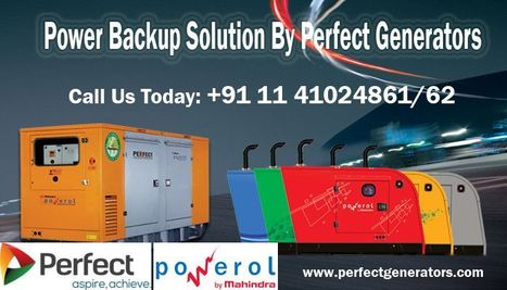 75kVA to 125 kVA Mahindra DG Set and Gensets Price in Delhi, Indi | Silent Diesel Generators | Scoop.it