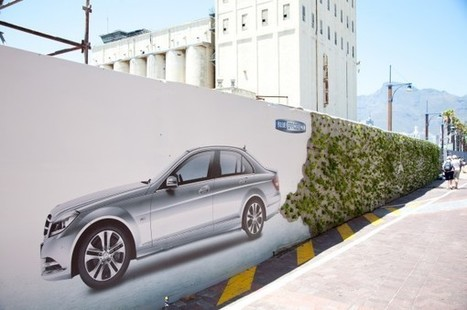 Affichage par Mercedes | streetmarketing | Scoop.it