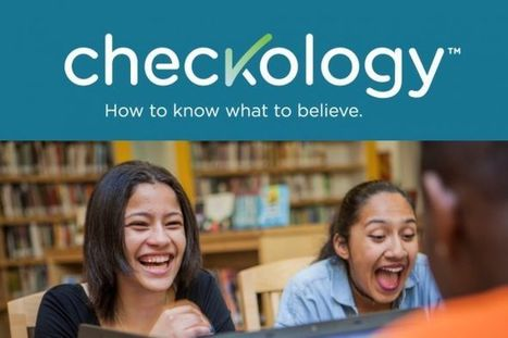 Be the First to Test NLP's checkology™ Virtual Classroom | The News Literacy Project | I'm Bringing Techy Back | Scoop.it