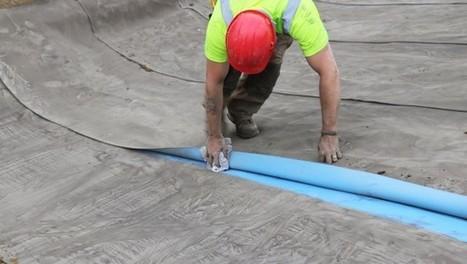 Cimtex : une toile béton totalement étanche | innovation-beton | Scoop.it