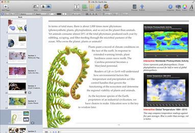 Apple : déjà 350 000 téléchargements d'ebooks scolaires | BiblioLivre | Scoop.it