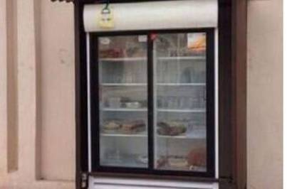 Man installs 'charity fridge' outside his house | Global Resolutions | Scoop.it