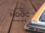 Les MOOC qui débutent en février 2016   FOAD & individualisation - Session 3   Scoop.it