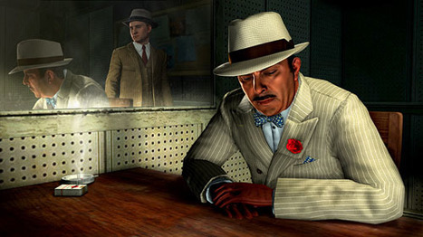 "Get Ready For Your Close-Up! Rockstar's Incredible ""LA Noire"" trailer features the best video game acting yet...New technology captures voice actors' facial expressions 
