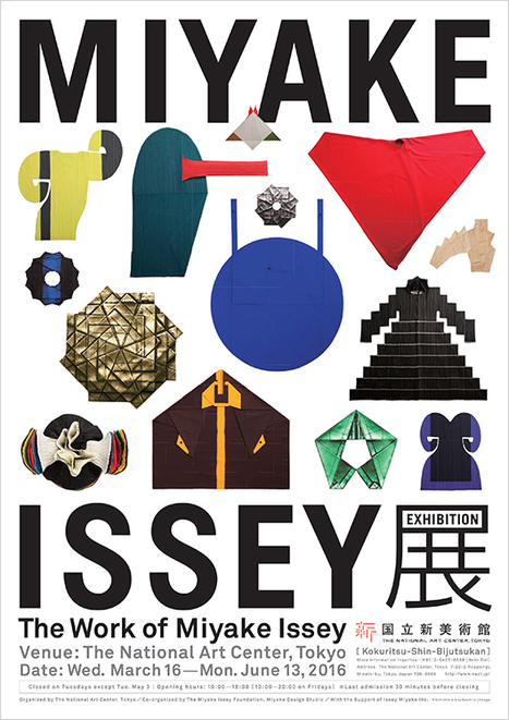 National Art Center Tokyo | The Work of Miyake Issey | design exhibitions | Scoop.it