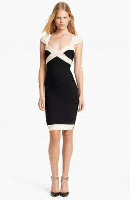 Herve Leger Black White Colorblocked Bandage Dress [Colorblocked Bandage Dress] - $183.00 : Cheap Herve Leger Bandage Dresses, 60% off Herve Leger Clothing Online | cheap herve leger | Scoop.it