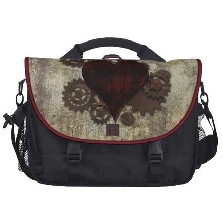 Steampunk Heart Bag | Laptop Bags | Scoop.it