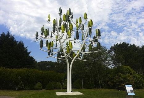 Arbre à vent - éolien - énergie durable - NewWind | FranceRegion.fr | Cleantech & ENR | Scoop.it