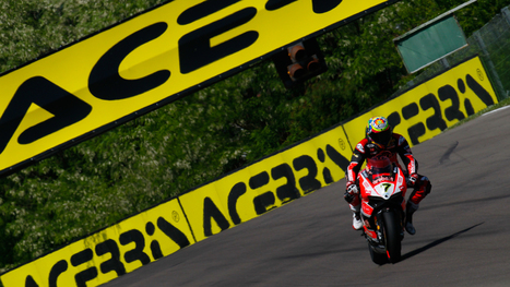 Davies in charge at Imola after FP1 | Ductalk Ducati News | Scoop.it