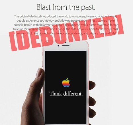 Here's why you definitely SHOULD NOT set your iPhone's date back to 1970! | Websites I Found So You Don't Need To | Scoop.it