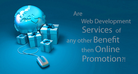 Are Web Development Services have any other Benefit then Online Promotion?! | Software Houses | Scoop.it