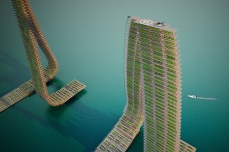 Densely Populated Countries Could Find Food Independence With Vertical Floating Farms | IFLScience | Animal Management | Scoop.it