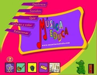 Juegos Musicales, un mundo de aprendizaje y div... | Tic educación | Scoop.it