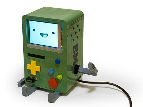 Lego Adventure Time BMO Features a RasPi | Raspberry Pi | Scoop.it