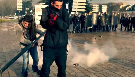 Blessé par la police, un journaliste de RennesTV porte plainte | Journalisme en développement | Scoop.it