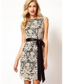 $ 111.29 Romantic Short Sleeve Lace Dress | Fashion ladies | Scoop.it