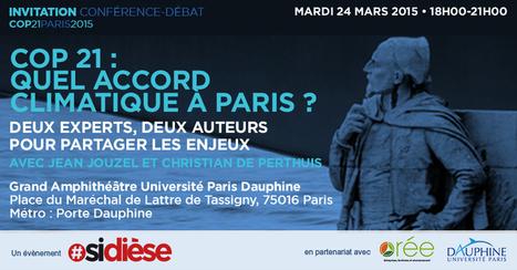 Invitation COP21 : quel accord climatique à Paris ? | Responsable éditorial-consultant en stratégies éditoriales | Scoop.it