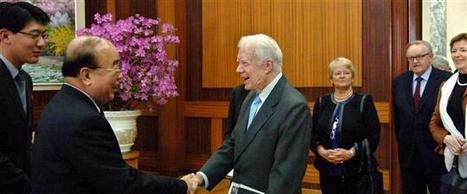 Monde Corée du Nord Jimmy Carter à Pyongyang - L'Alsace.fr | Pollutions minières | Scoop.it