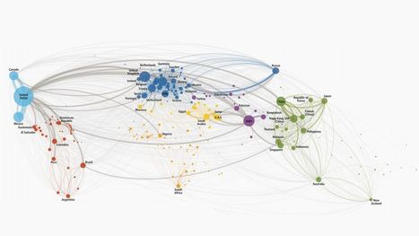 This map of international phone calls explains globalization | Tech It | Scoop.it