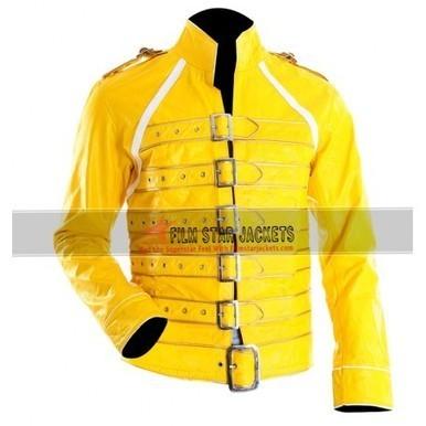Freddie Mercury Yellow Concert Jacket at Wembley For Sale | Film Star Jackets | Scoop.it