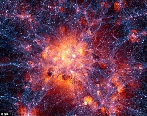 Dark matter is found in the Milky Way's core | Banco de Aulas | Scoop.it