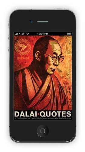 DalaiQuotes - for iPhone, iPad, and iPod Touch | meditation and wel being | Scoop.it