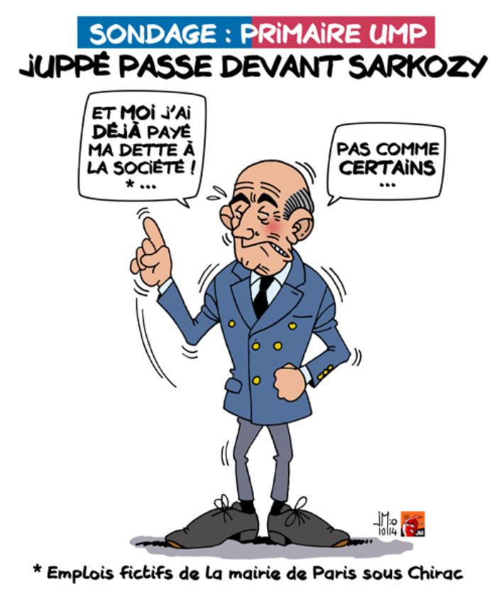 Primaire UMP : Juppé passe devant Sarkozy | Baie d'humour | Scoop.it