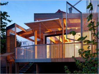 Une extension bois pour un pavillon des années 30 | Des idées pour vos travaux | Scoop.it