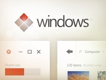 Windows UI Concept | deSIGn | Scoop.it