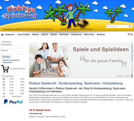 Robbys Spielzeugladen in Neuenburg am Rhein | Mennetic Design | Scoop.it
