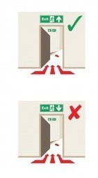 Don't get caught out with the #1 mistake made with the Positioning of Fire Exit Signs | Safety Signs | Scoop.it