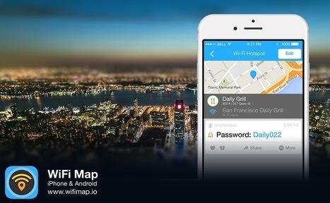 Wifi Map: Directorio de Contraseñas de Wifi en todo el Mundo | Educacion, ecologia y TIC | Scoop.it
