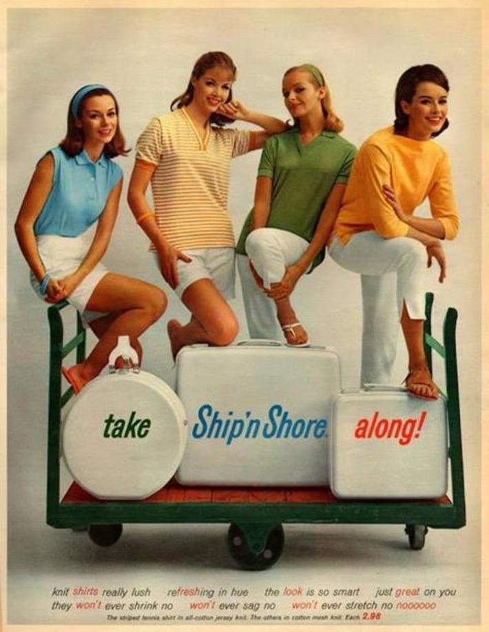 Take Ship 'n Shore Along! | Kitsch | Scoop.it