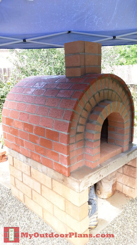 Diy brick pizza oven free outdoor plans diy for Diy brick projects