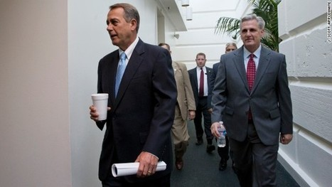 After House stalls, Dems and GOP in Senate reboot shutdown, debt plan talks | etcetera | Scoop.it