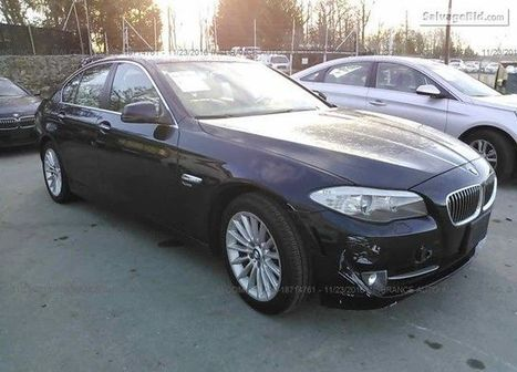 2012 BMW 535 on online auction  | Salvage Auto Auction | Scoop.it