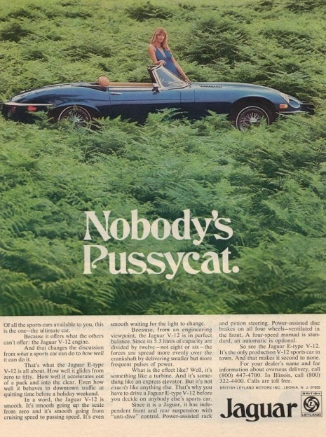 Mad Men and the Real Jaguar Ads of the 1960s and 70s | A Cultural History of Advertising | Scoop.it