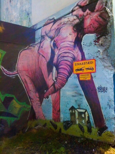 Reykjavik's wild street art | enjoy yourself | Scoop.it
