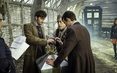 Doctor Who: on the set of the 50th anniversary episode - Telegraph | Culture | Scoop.it