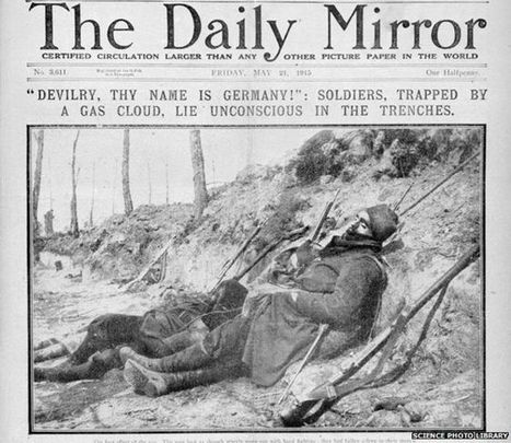 How deadly was the poison gas of WW1? - BBC News | HOMEHISTORY | Scoop.it