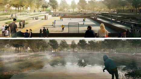 #Denmark preps for #climate change by building parks that can transform into ponds | Messenger for mother Earth | Scoop.it