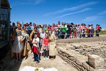 Algunas fotografías de las visitas teatralizadas al yacimiento arqueológico | Cástulo, capital de Oretania | Scoop.it