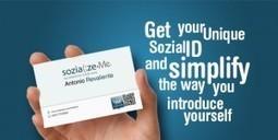 SozializeMe. Une carte de visite de tous vos reseaux sociaux - Les outils de la veille | Lettres-Tice | Scoop.it