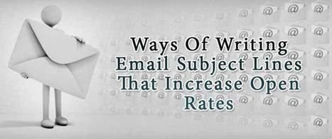 Ways Of Writing Email Subject Lines That Increase Open Rates | AlphaSandesh Email Marketing Blog | best email marketing Tips | Scoop.it