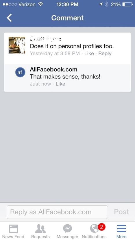 Facebook Releases Updated IOS App - AllFacebook | Digital-News on Scoop.it today | Scoop.it