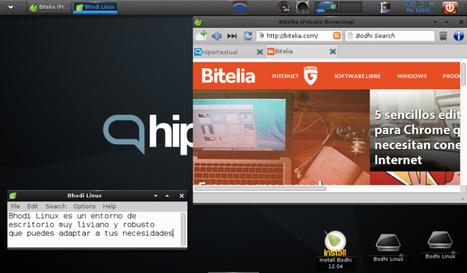 Bodhi Linux: una distribución ultra ligera, rápida, y diferente.   eRanteTecnologia   Scoop.it