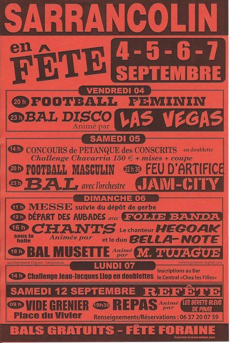 Fête de Sarrancolin du 4 au 7 septembre | Vallée d'Aure - Pyrénées | Scoop.it