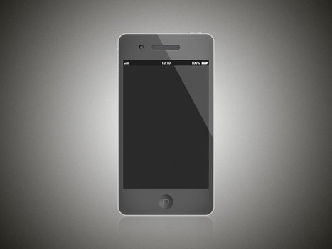 Free iPhone Wireframe PSD Template | Crazy 4 Photoshop | Scoop.it