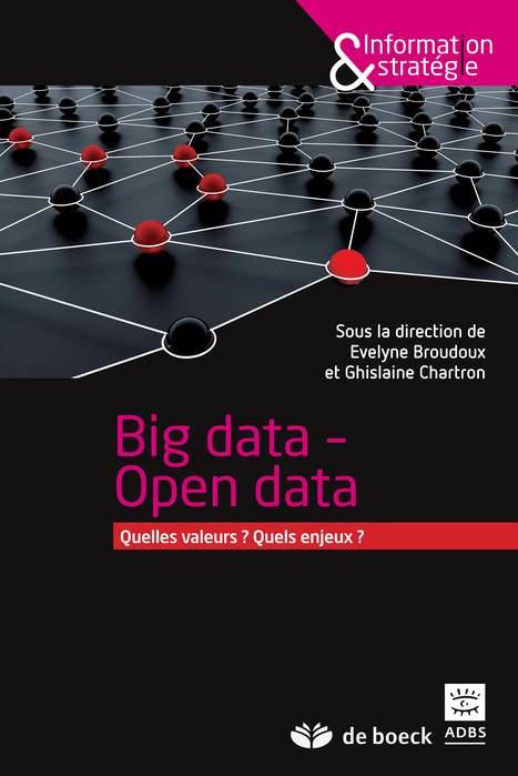 A paraître : « Big data - Open data : quelles valeurs ? Quels enjeux ? », sous la direction d'Evelyne Broudoux et Ghislaine Chartron - L'association des professionnels de l'information et de la doc... | Intelligence-Economique | Scoop.it